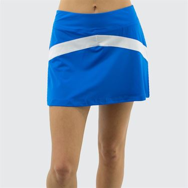 Fila Heritage Colorblocked Skirt - Electric Blue/White/Navy