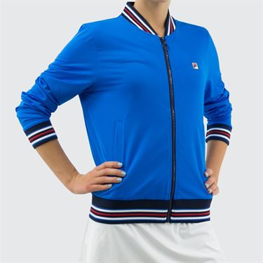 Fila Heritage Jacket - Electric Blue/Navy