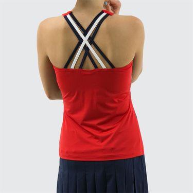 Fila Heritage Cami - Chinese Red/Navy/White
