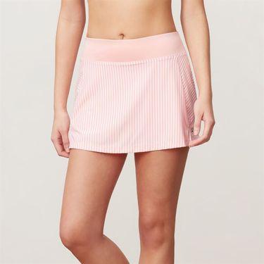 Fila Stripe 13.5 Inch Skirt - Lipstick Pink Stripe/Light Pink