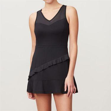 Fila Ruffle Dress - Black