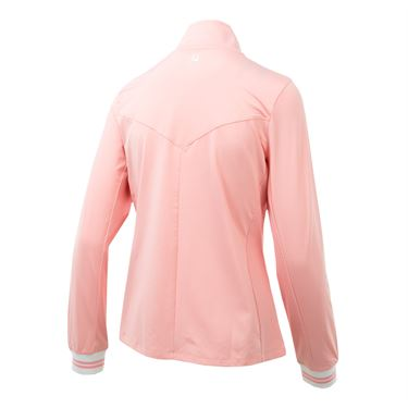 Fila Stripe Jacket - Light Pink/Light Pink Stripe
