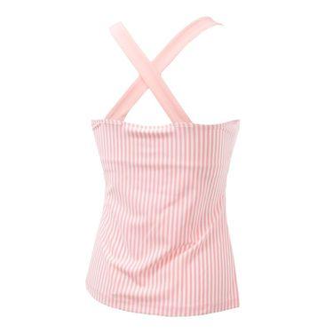 Fila Stripe Halter Tank - Light Pink Stripe/Light Pink