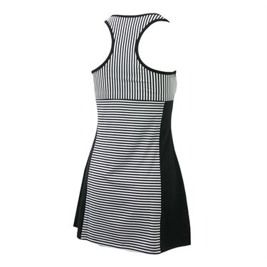Fila Stripe Dress - Black Stripe/Black