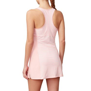 Fila Stripe Dress - Light Pink Stripe/Light Pink
