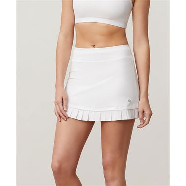 Fila Aqua Pleated Hem Skirt - White
