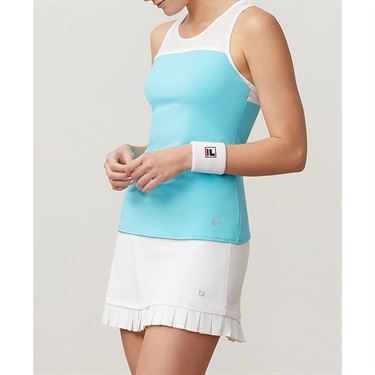 Fila Aqua Mesh Racer Tank - Blue Curacao/White/French Blue