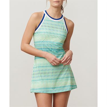 Fila Aqua Halter Dress - French Blue Print