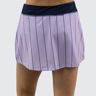 Fila Heritage Stripe Skirt Womens Pastel Lilac/Navy TW932793 591