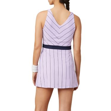 Fila Heritage Dress Womens Pastel Lilac/Navy TW932798 591