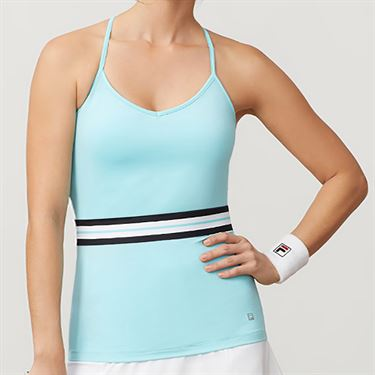 Fila Love Game Cami Tank Womens Angel Blue TW932821 936