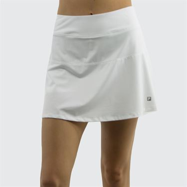 Fila Love Game Flare Skirt - White