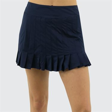Fila Awning Pleated Skirt Womens Navy TW933493 412