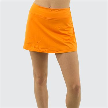 Fila Awning A Line Skirt Womens Orange Peel TW933626 815