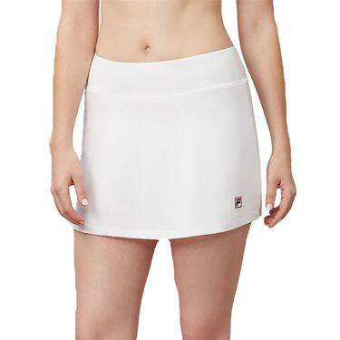Fila Heritage Solid Skirt Womens White TW933647 100