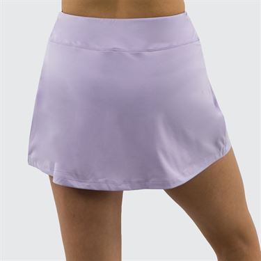 Fila Heritage Solid Skirt Womens Pastel Lilac/Navy TW933647 591