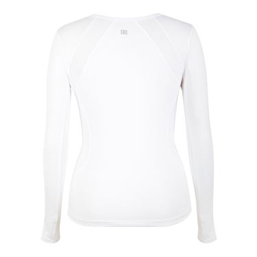 Tail Savannah Essentials Long Sleeve Top  - White