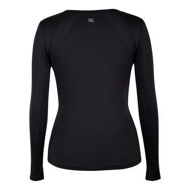 Tail Savannah Essentials Long Sleeve Top  - Black