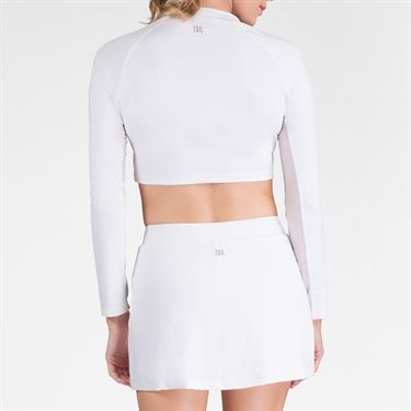 Tail Sasha Crop Top - White
