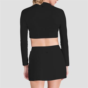 Tail Crop Top - Black