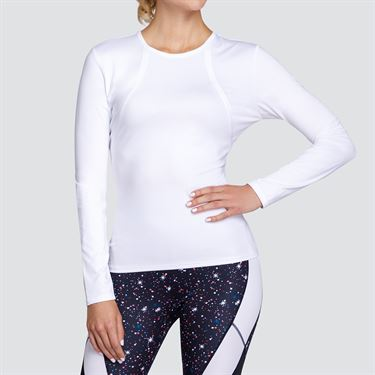 Tail Long Sleeve Top - White