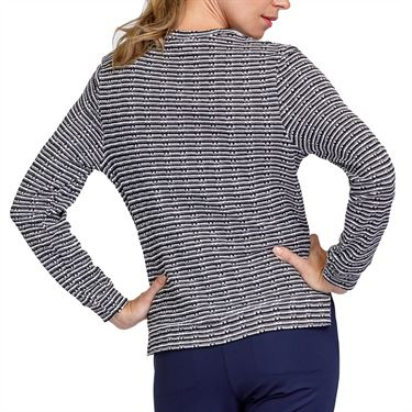 Tail Essentials Viola Long Sleeve Top Womens Chalk/Onyx TX2730 H30X