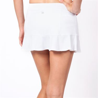 Tail 12.5 Inch Flounce Skirt - White