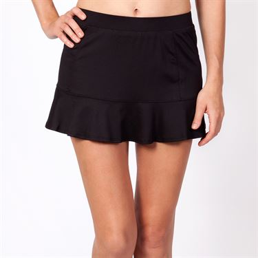 Tail Basic Flounce Skirt - Black