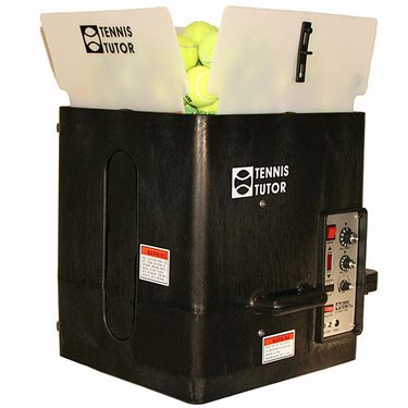 Tennis Tutor Plus Ball Machine w/ Wireless Remote AC/DC