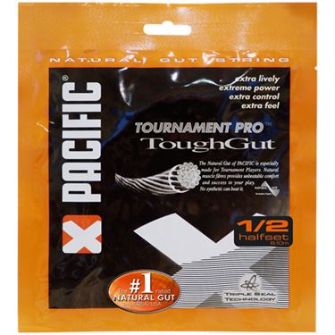 Pacific Tough Gut Natural Gut 16G Half Set Tennis String