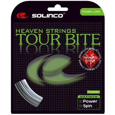 Solinco Tour Bite Diamond Rough 16L Tennis String