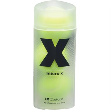 Tretorn Micro X Pressureless Tennis Ball Can