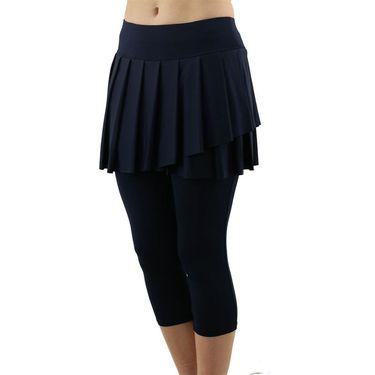 Jofit Skirted Capri Legging Womens Midnight UB0012 MDN