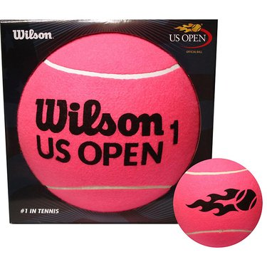 Wilson US Open Jumbo 5 Inch Pink Tennis Ball