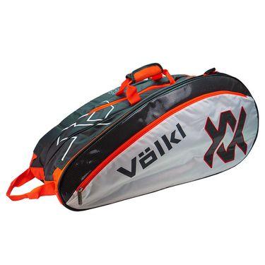Volkl Tour Mega Tennis Bag - Charcoal/White/Lava