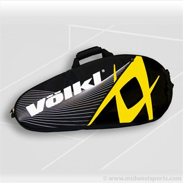 Volkl Team Pro Black/Yellow 3 Pack Tennis Bag