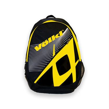 Volkl Team Backpack Black/Yellow Tennis Bag