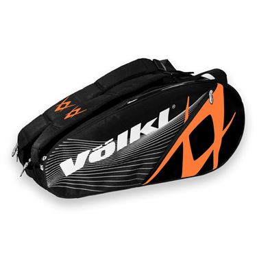 Volkl Team Combi Black/Orange 6 Pack Tennis Bag
