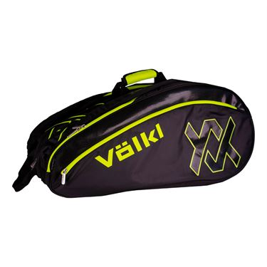 Volkl Tour Mega Tennis Bag - Black/Neon Yellow
