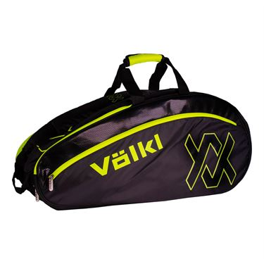 Volkl Tour Combi Tennis Bag - Black/Neon Yellow