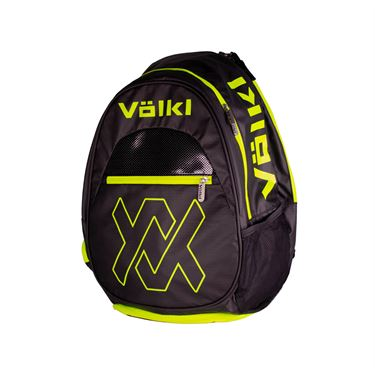 Volkl Tour Tennis Backpack - Black/Neon Yellow