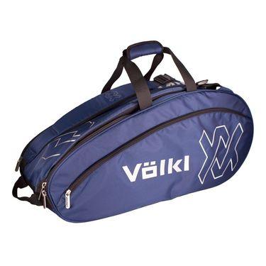 Volkl Team Combi 6 Pack Tennis Bag - Navy/Silver