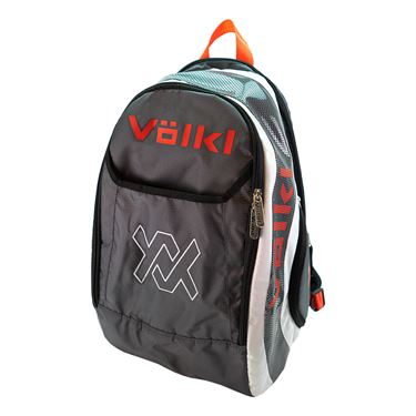Volkl Tour Tennis Backpack - Charcoal/White/Lava