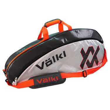 Volkl Tour Pro Tennis Bag - Charcoal/White/Lava