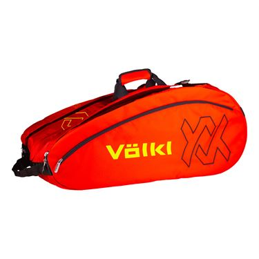 Volkl Team Mega 12 Pack Tennis Bag - Lava/Yellow