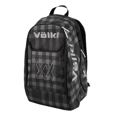 Volkl Team Tennis Backpack - Black/Plaid