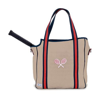 Ame and Lulu Vintage Sport Tennis Tote