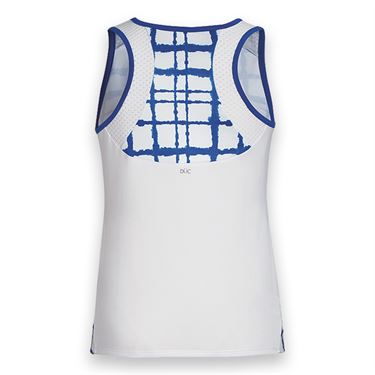 DUC Absolute Printed Tank - White/Pine