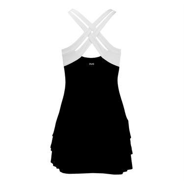 DUC Grace Fashion Strappy Dress - Black/White