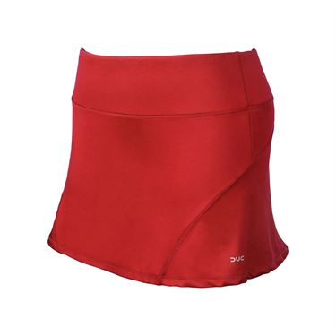 DUC Team A Line Skirt Womens Red W2000 RD